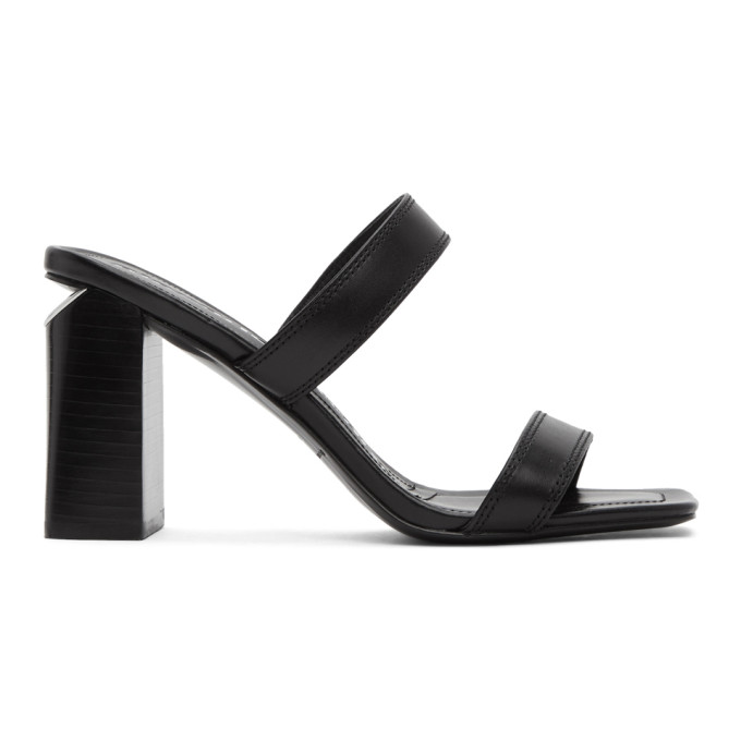 Buy Alexander Wang Black Hayden Heeled Sandals online