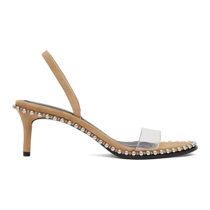 Buy Alexander Wang Brown Nova Low Heeled Sandals online