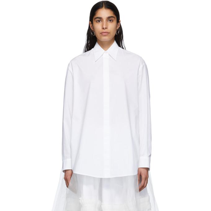 MM6 Maison Margiela Chemise blanche Just Margiela
