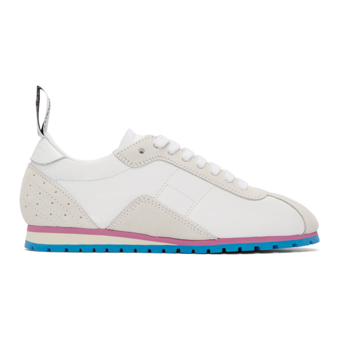 Mm6 Maison Margiela White Retro Sneakers In H7961 Blanc