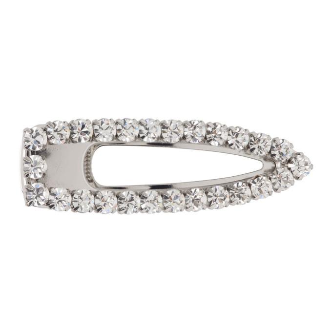 Marc Jacobs Barrette argentee The Diamante