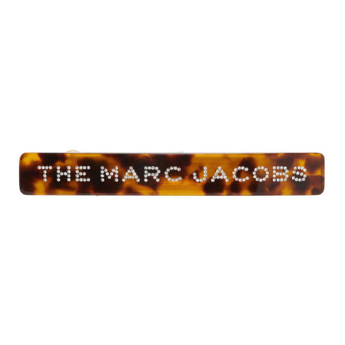 Marc Jacobs Barrette ecailles de tortue Small The Barrette