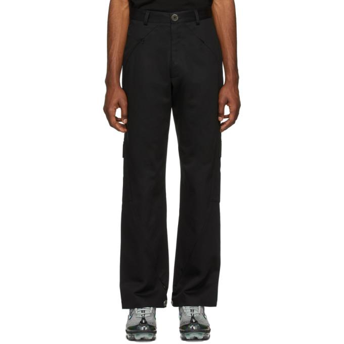 Spencer Badu Pantalon noir Cargo Dress