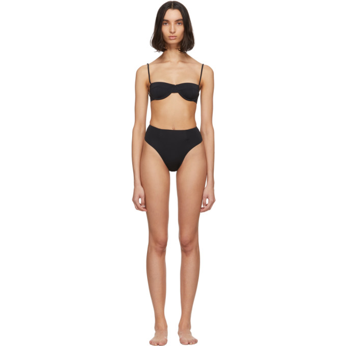 Haight Bikini noir Vintage