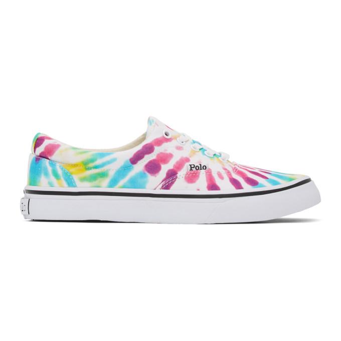 Polo Ralph Lauren Multicolor Thorton Sneakers In Rainbow