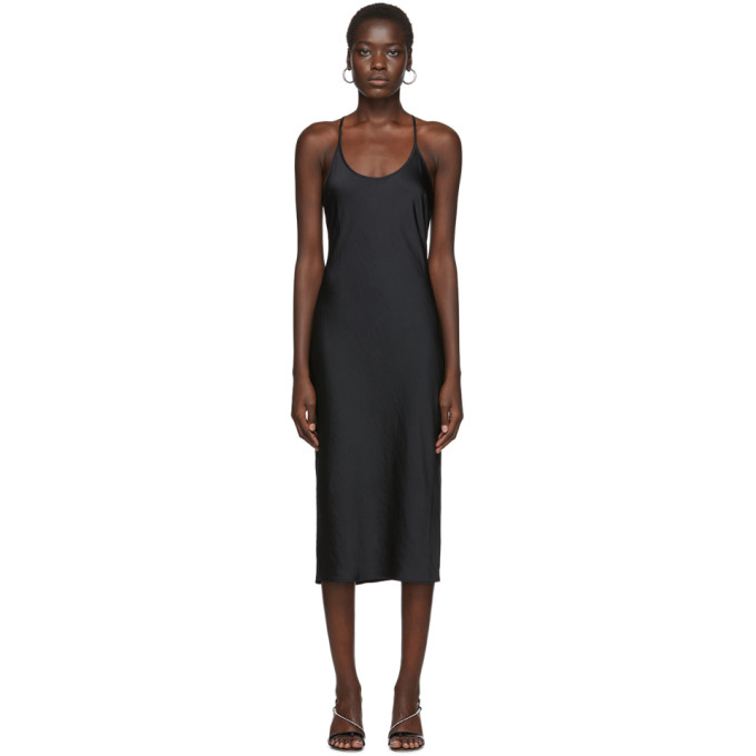 alexanderwang.t Robe a dos nageur noire Wash and Go
