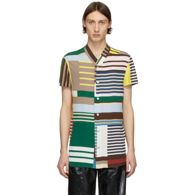 Rick Owens Chemise multicolore Golf