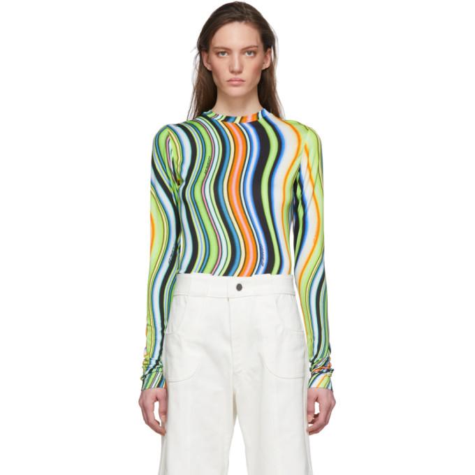 Lecavalier T-shirt en jersey multicolore