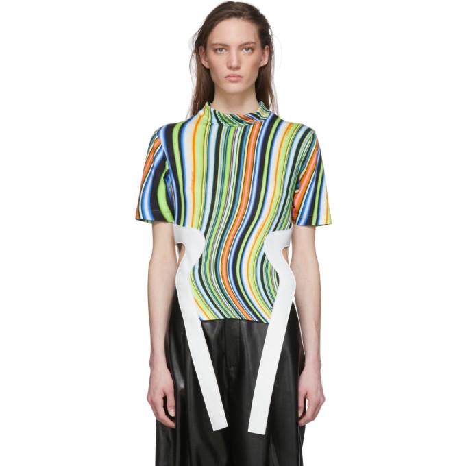 Lecavalier T-shirt multicolore Wavy Side