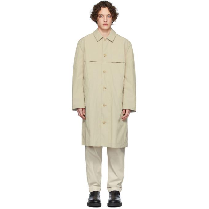 Deveaux New York Manteau reversible beige Felix