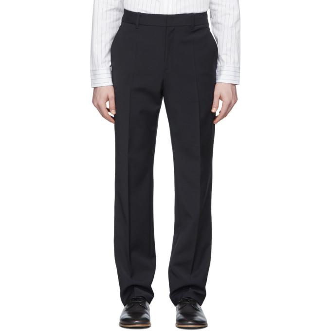 Deveaux New York Pantalon bleu marine Suit