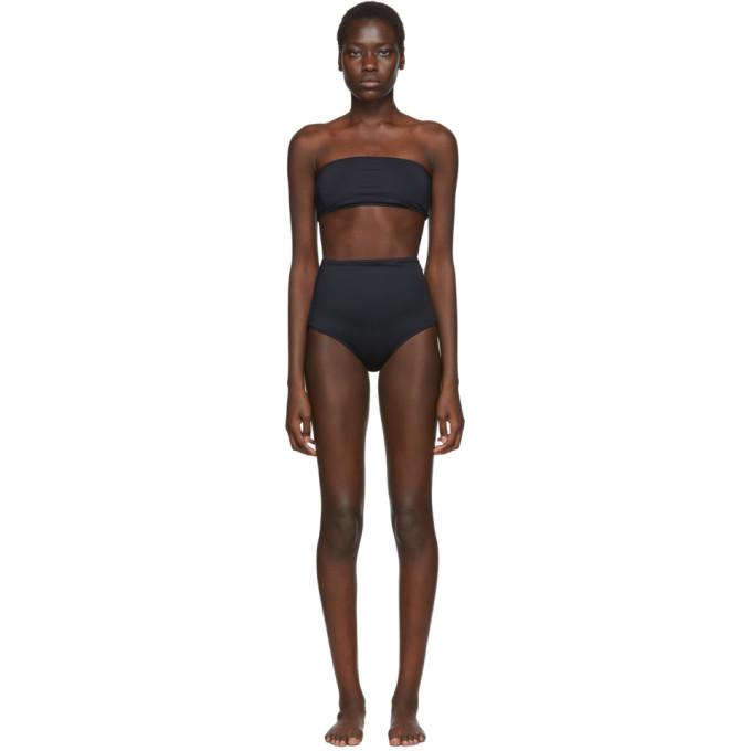 Rudi Gernreich Haut de bikini bandeau noir