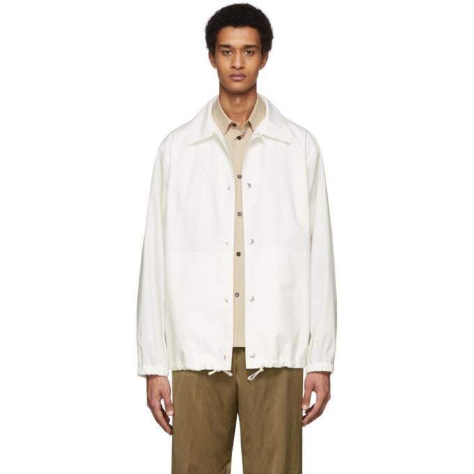 Jil Sander Jil Sander Off-White Essential Outdoor Jacket