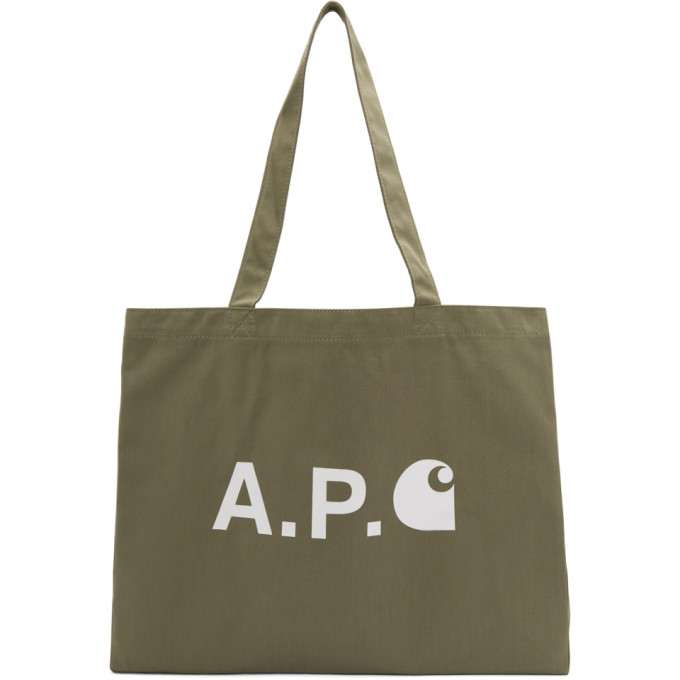 A.P.C. Carhartt WIP Edition ロゴ ショッピング トート