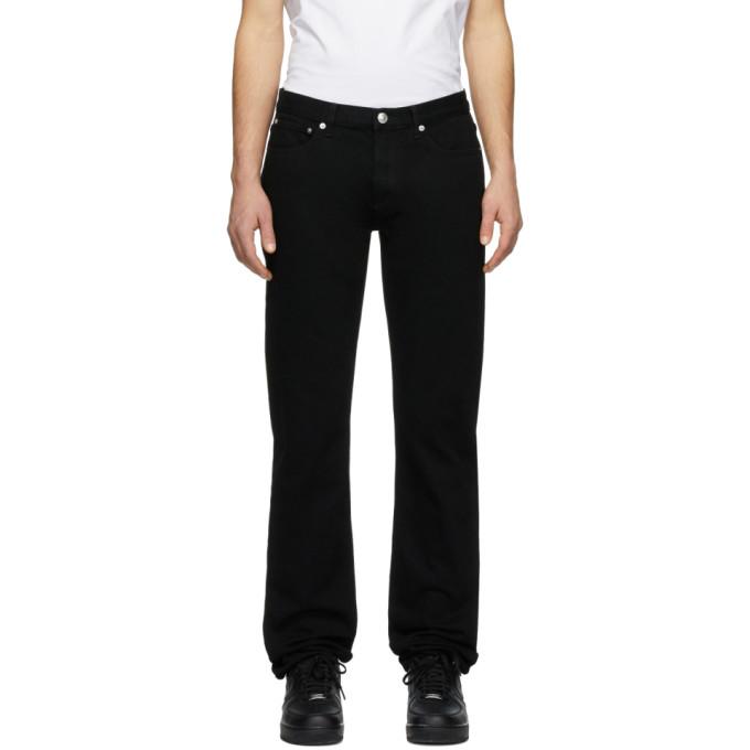 A.p.c. Petit Standard Jeans In Noir
