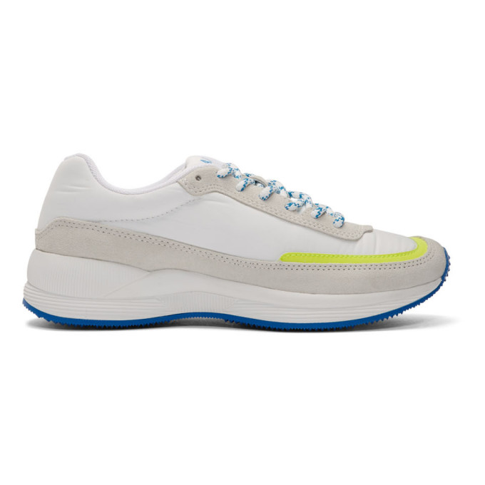 A.P.C. Baskets blanches et jaunes Mary