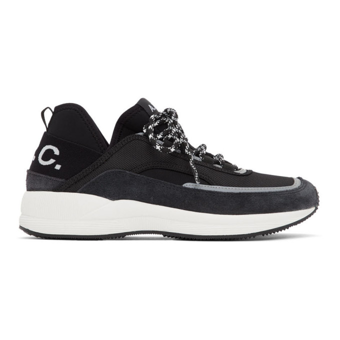 A.p.c. Sneakers A.P.C. BLACK RUN AROUND SNEAKERS