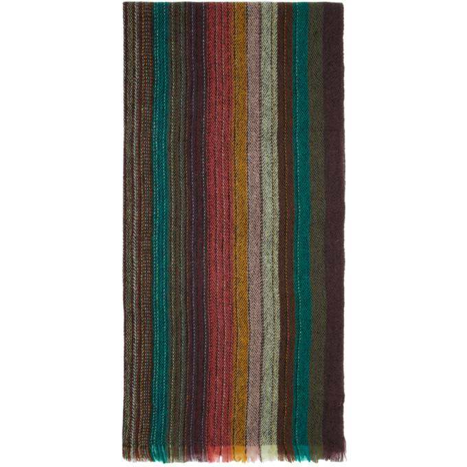 Paul Smith Foulard multicolore Artist Clash