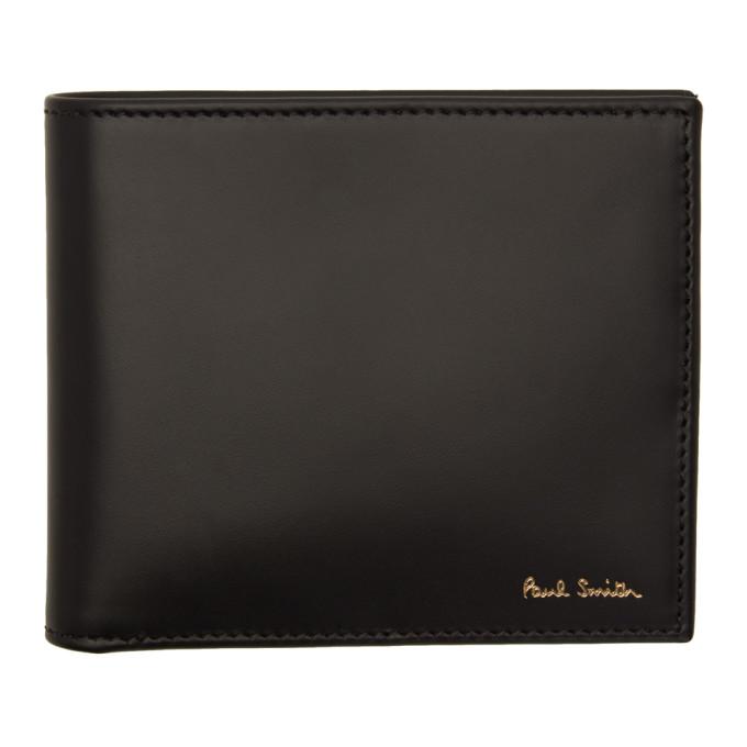 Paul Smith ブラック マルチ ストライプ カード ホルダー