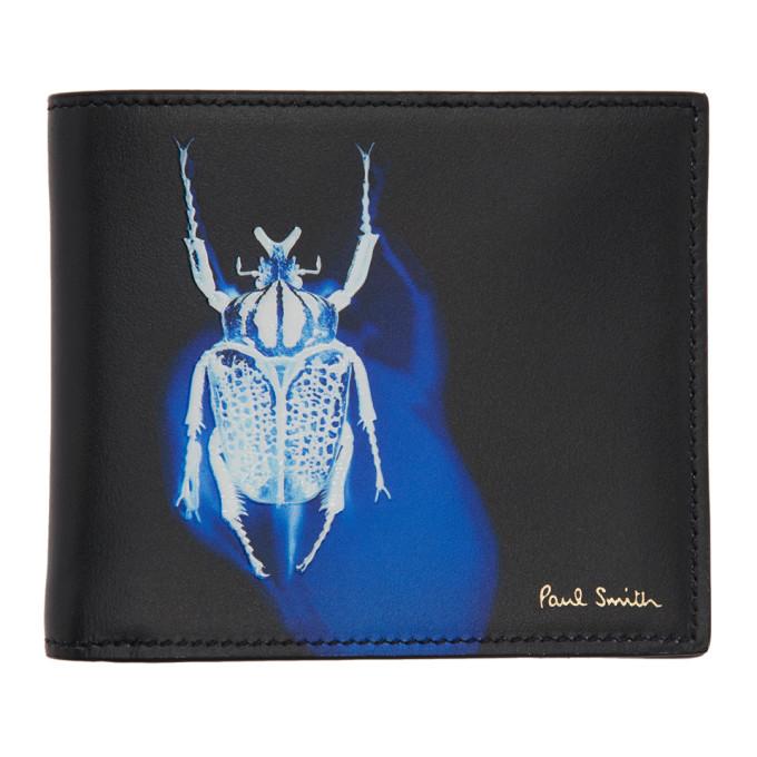 Paul Smith ブラック Beetle バイフォルド ウォレット