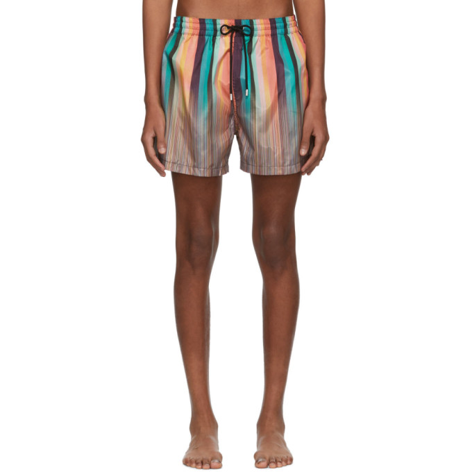 Paul Smith Maillot de bain multicolore Artist Clash