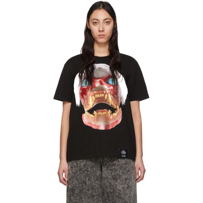 S.R. STUDIO. LA. CA. T-shirt noir White Haired Red Skull ED. 50