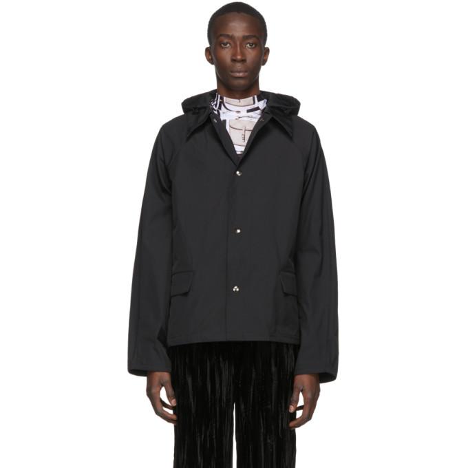 Kassl Editions Black Original Hip Jacket In 0000 Black