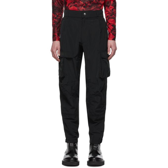 Givenchy ブラック タフタ カーゴ パンツ