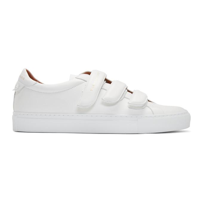 Givenchy White Urban Street Velcro