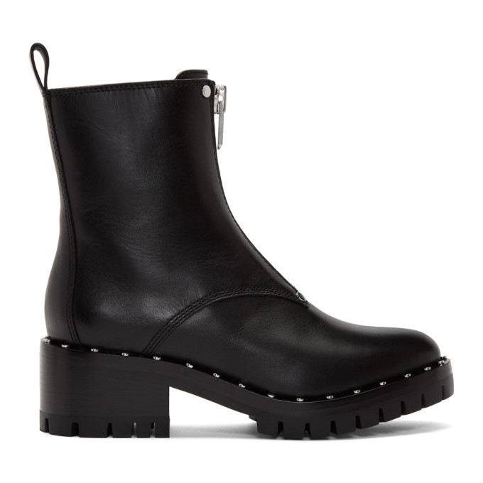 Buy 3.1 Phillip Lim Black Studded Hayett Boots online
