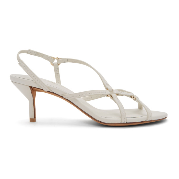 Buy 3.1 Phillip Lim White Louise Strappy 60mm Sandals online