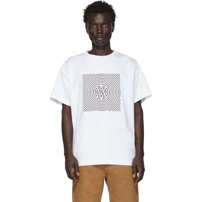 Vyner Articles T-shirt blanc Trance Vision