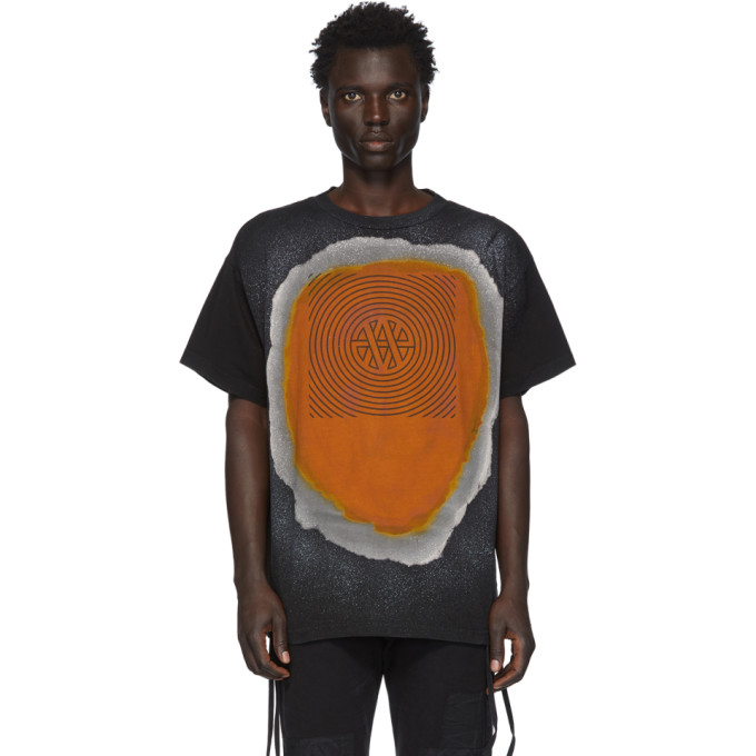 Vyner Articles T-shirt noir Treated Trance Vision