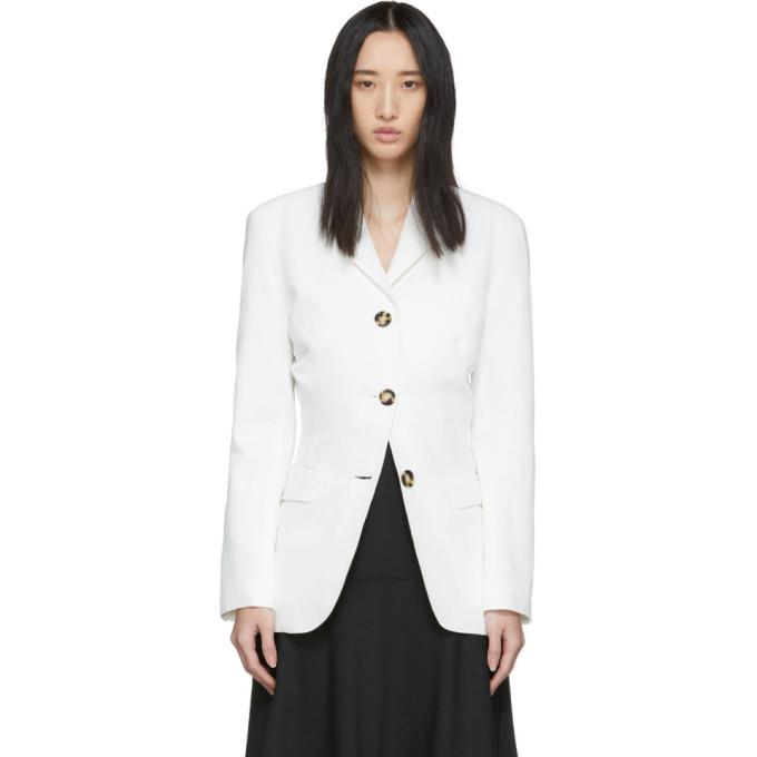 Proenza Schouler Blazer cintre blanc