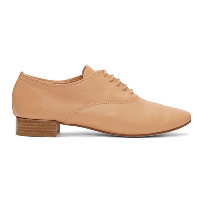 Repetto Chaussures oxford brun clair Zizi