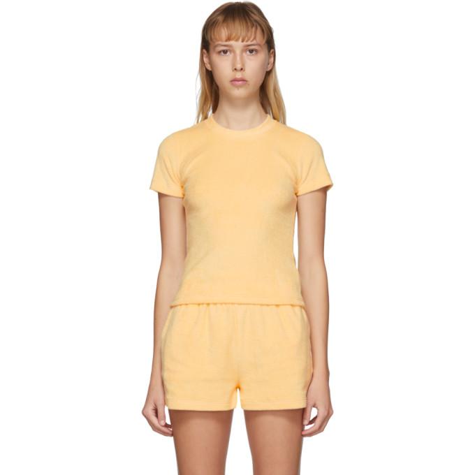 Gil Rodriguez T-shirt jaune Terry Corsica exclusif a SSENSE