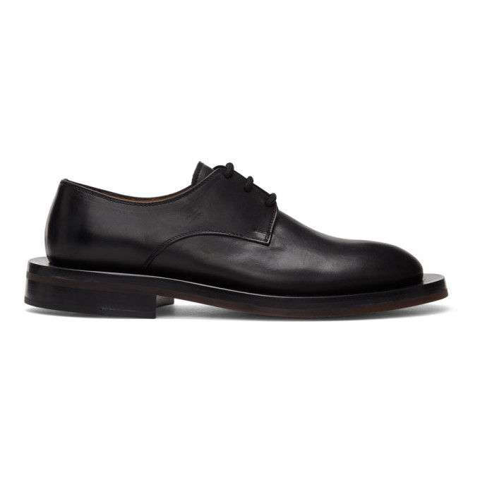 ION Derbys laces noirs