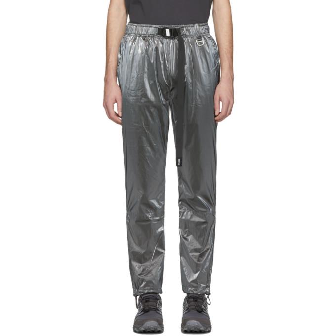 C2H4 Pantalon de survetement argente STAI Buckle