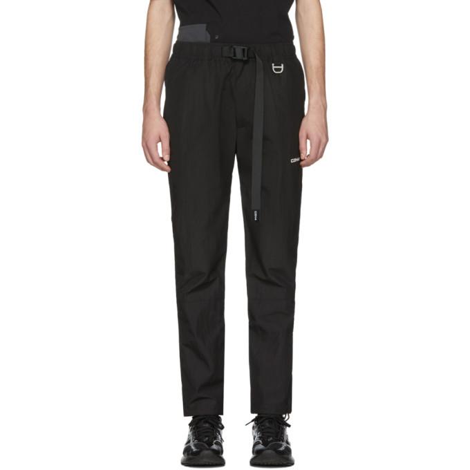 C2H4 Pantalon de survetement noir Buckle