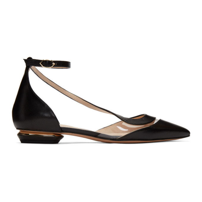 Buy Nicholas Kirkwood Black S Ballerina Flats online