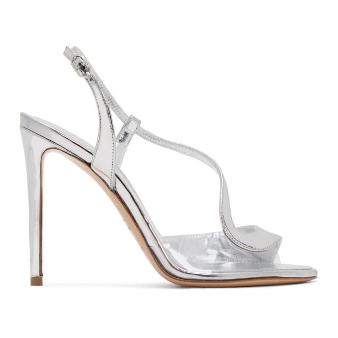 Buy Nicholas Kirkwood Silver Patent S Sandals online