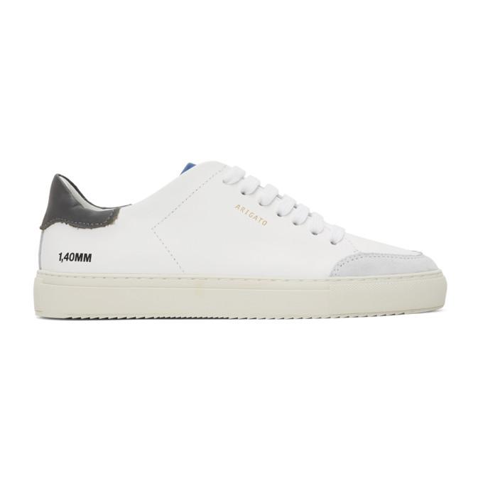 Axel Arigato Baskets blanches et grises Clean 90