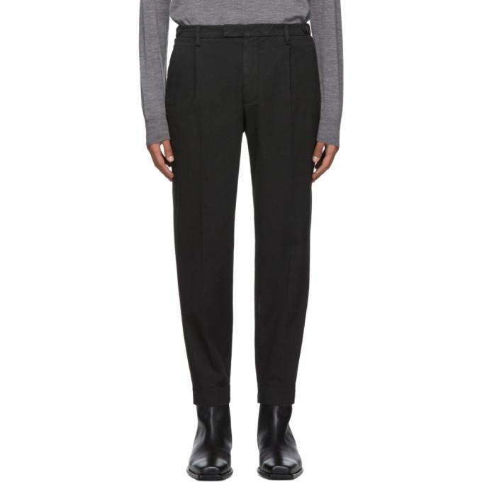 Barena Pantalon noir Masco