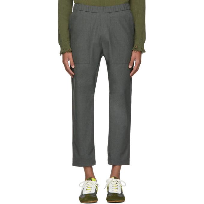 Barena Pantalon gris Trabaco