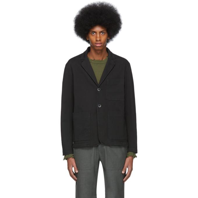 Barena Blazer noir Refada Overshirt