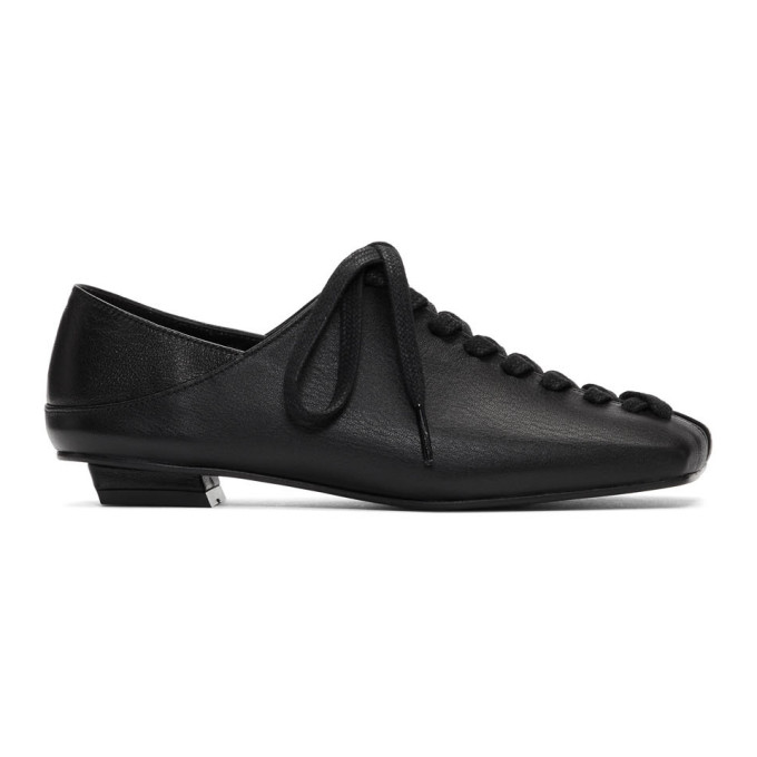 Flat Apartment Ballerines a plateformes noires Mary Jane