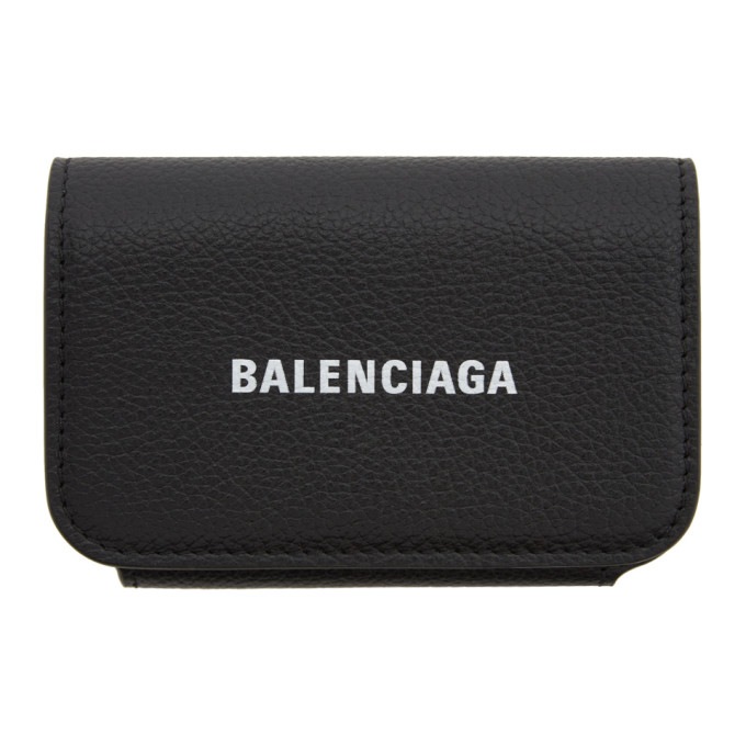Balenciaga Black Cash Accordion Wallet  - buy with discount