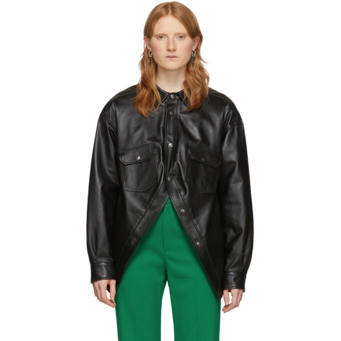 Balenciaga Balenciaga Black Swing Canadian Jacket