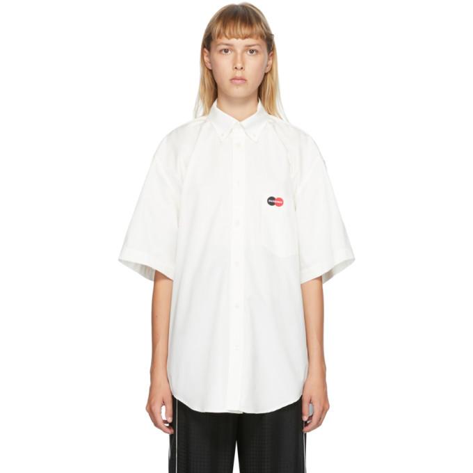 Balenciaga Chemise blanc casse Uniform