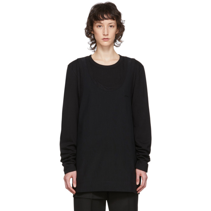 Juun.J T-shirt etage noir